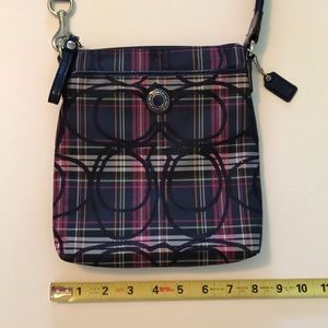 New plaid coach purse 👛